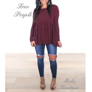 Free People Forever Your Girl Tee